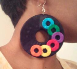 Color Junkie Earrings $15  If you would like to purchase, email me at preciousanddevin@gmail.com