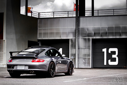 Pick a number Starring: Porsche 911 Carrera S (by Alexis Goure)