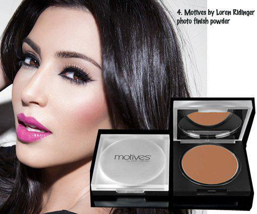 Kim Kardashian for motives too! the Kardashian sisters love Motives!!! Here she is wearing Photo Finish Powder in Neutral Medium for £21, Message us for orders!
