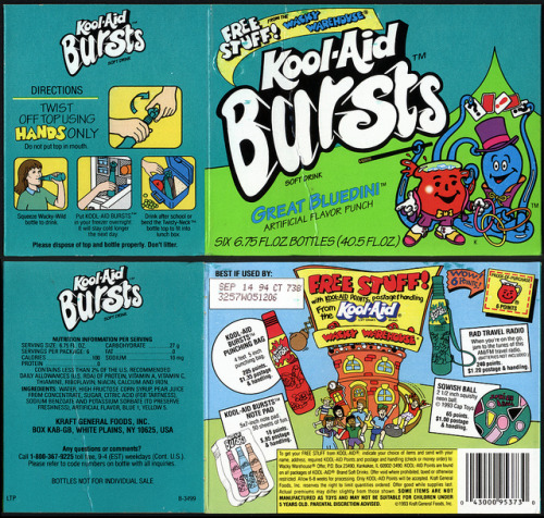 Kool Aid Bursts [Flickr]
