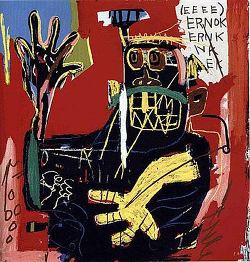 Jean Michel Basquiat //Untitled (Ernok)