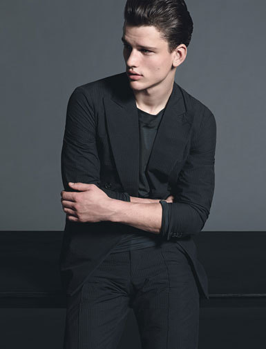Spring Fashion Special: Minimalism | All clothing by Giorgio Armani.
