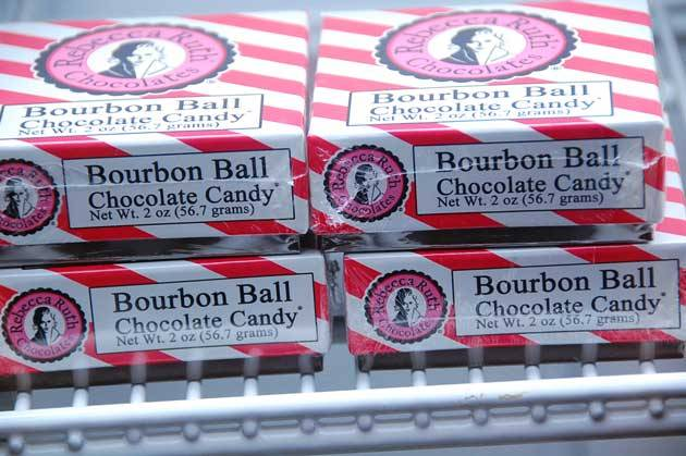 Rebecca Ruth bourbon balls from Kentucky at Beaumont Inn for #FriFotos