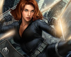 Black Widow.  Can't Wait for the Avengers!!!! Sexy.Beautiful.Women My Stuff!! Dammit!! Anime & Comic Art
