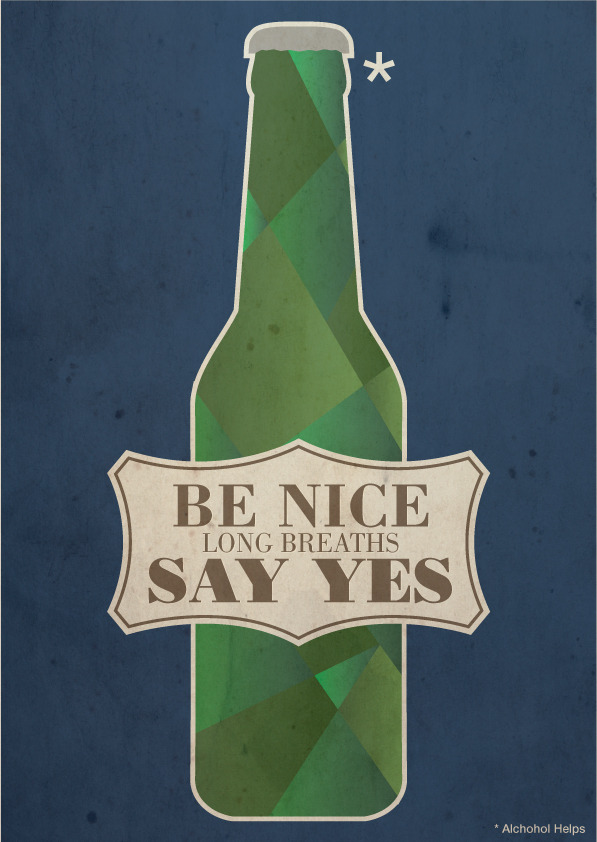 Be Nice, Long Breaths, Say Yes