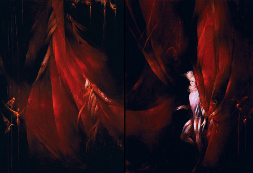 The Curtain Rises by Anne Bachelier