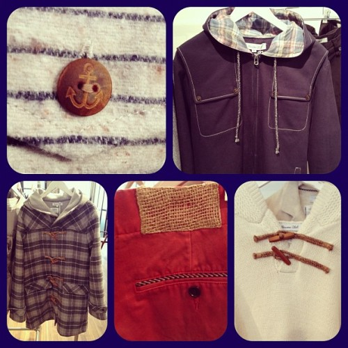 Nautical details at Riviera Club for #fw12. (Taken with instagram)