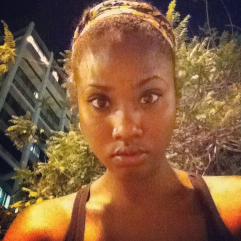 I love her eyes. brianna-mccarthy:  Last night.  Trinidad.