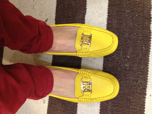 Not convinced that you need a pair of loafers? I bet this sunny yellow pair will do the trick!