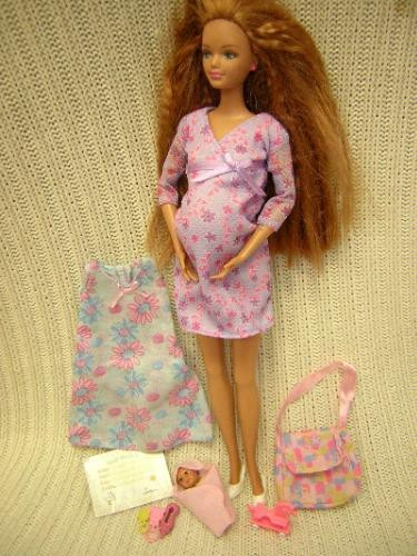 "Pregnant Barbie doll ""Midge"" came complete with a removable unborn child stuffed deep inside her plastic uterus (See more of the most controversial Barbies)."