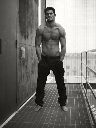 model David Gandy photographed by Mariano Vivanco