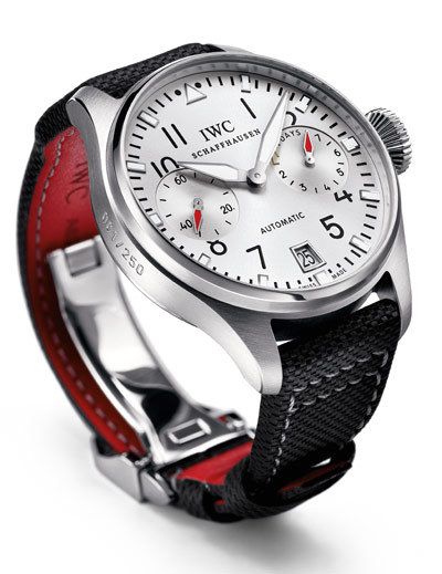 "IWC - Big Pilot's Watch Edition DFB As part of its agreement with the German Football Association (DFB), IWC Schaffhausen is launching the ""Official Watch of the German National Football Team""."