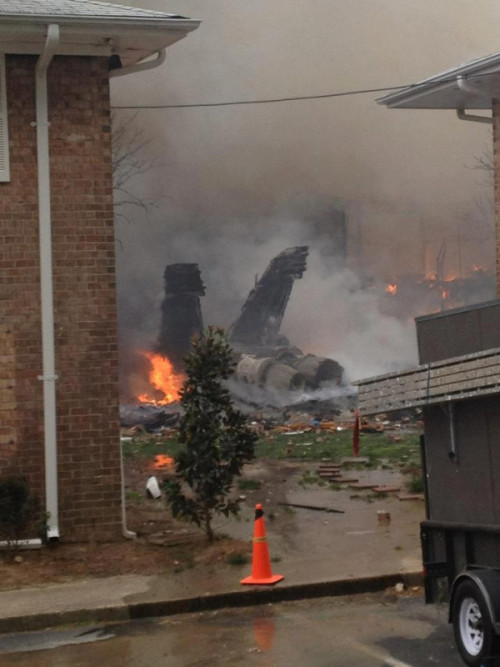 WAVY:  Navy F18 crashes in Va. Beach VIRGINIA BEACH, Va. (WAVY) - The Navy confirms to WAVY.com that an F18 jet has crashed in Virgnia Beach Friday afternoon. Grazia Moyers, spokeswoman for the Virginia Beach Police Department, told  WAVY.com just before 12:30 p.m. what police believe is a military aircraft has gone down. Commander Rosi with the Navy told WAVY.com the plane was an F18 Strike fighter squadron 106. Rosi added two aircrew safely ejected from the plane that was based in Oceana. Further information is not available at this time. Police are responding to the scene at this time and will assist the military and the State Police, Moyer added. Virginia State Police have shut down Interstate 264 at Laskin Road in both directions, Sgt. Anaya with the VSP said. Virginia Department of Transportation traffic cameras show thick, black smoke rising from the Birdneck Road area Friday afternoon around 12:30 p.m. WAVY.com has a crew on the way to the scene and will have more as soon as it comes in.  photo via @kandidrops