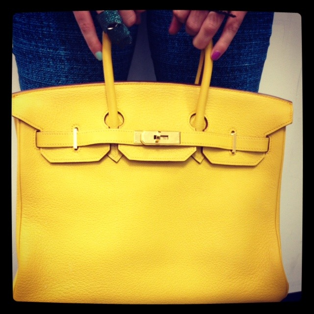 Hermes 35cm 18k Gold Plated Birkin at eDrop-Off…soon to launch on shopedropoff.com