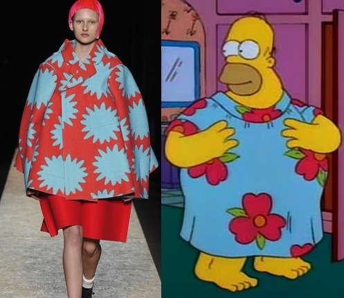 gqfashion:  Eat My Shorts: A Simpsons Style Shopping Guide Without further Apu ado, we humbly present: The Bartorialist.   Simpson runway! Haha
