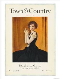 Town & Country sells prints of vintage covers.  How did I not know this?  My [imaginary] dressing room will need several of these.