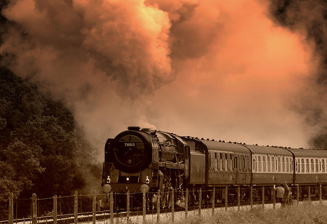 The Golden Age Of Steam by Andrew Page1 on Flickr.