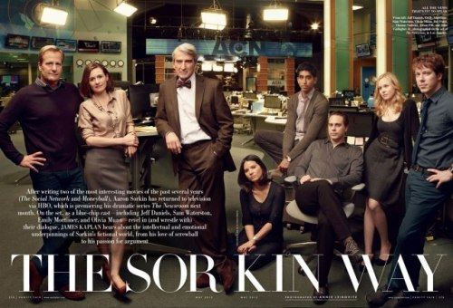 "imwithkanye:  Aaron Sorkin on His New HBO Show, The Newsroom, and His Style of ""Musical Dialogue"" 