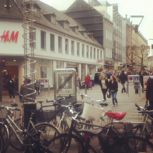 Denmark: a H&M on every corner