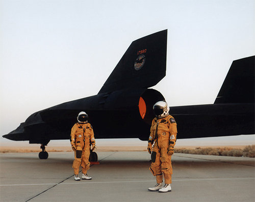 letsdolaunch:  dryden flight research center SR-71 crew circa 1991. swag.