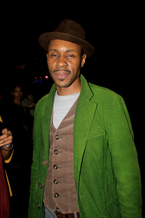 Wood Harris (@WoodHarris) at Highline Stage last night for the Erykah Badu's show