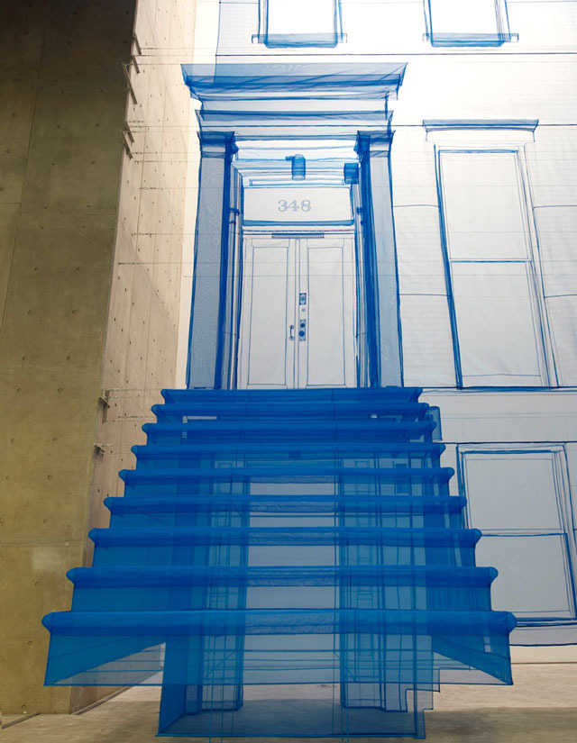 laughingsquid:  Amazing Fabric House Models by Do Ho Suh