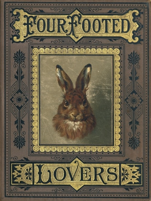 Four Footed Lovers starvetheapothecary:   by Frank Albertsen (1875)