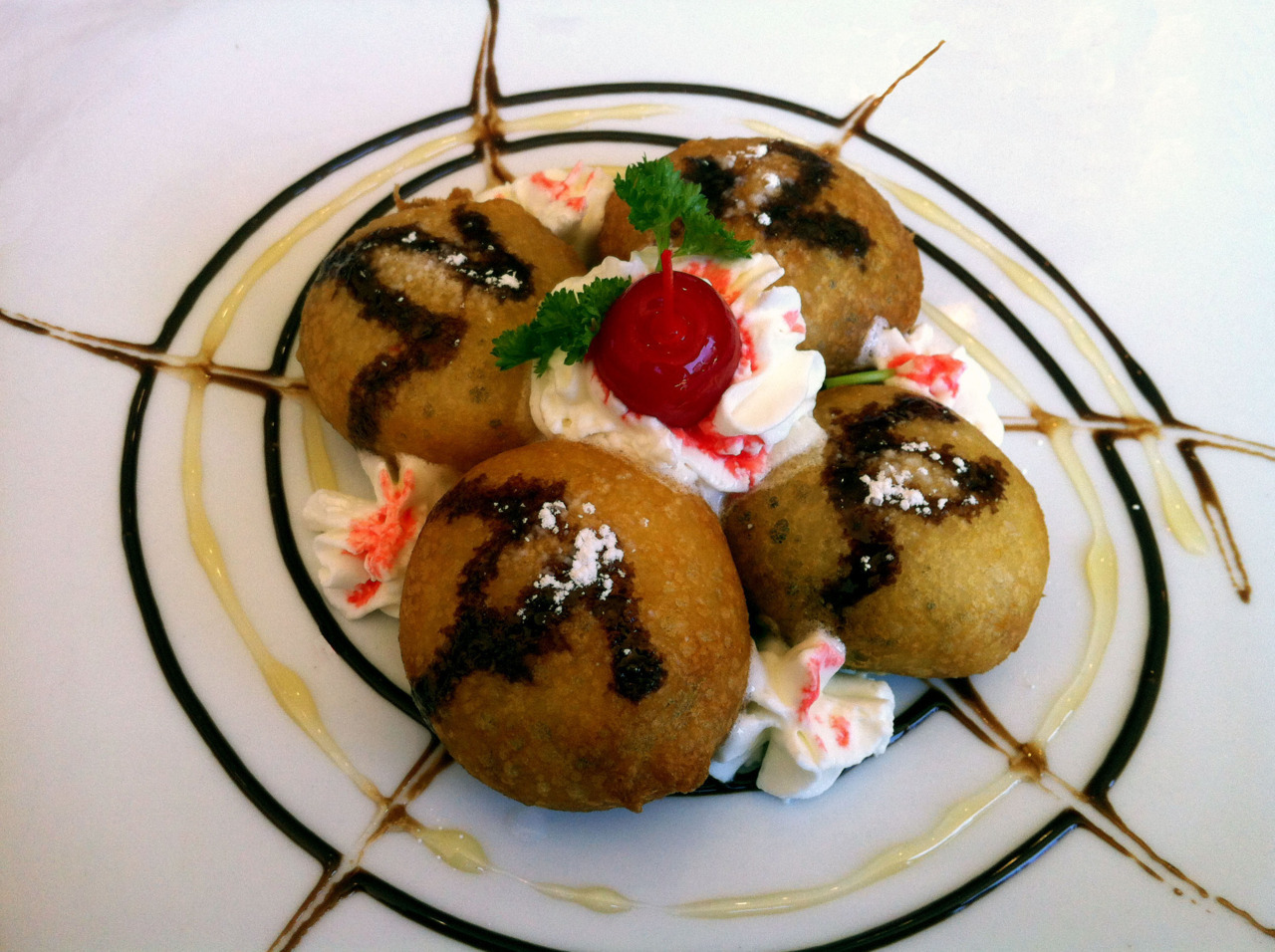 Deep Fried Oreos at Sweet Mango in Berea, Ohio [Previously: Pad Thai Country Style, Prik Pow Fried Rice]