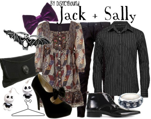 character-inspired-fashion:  Jack & Sally