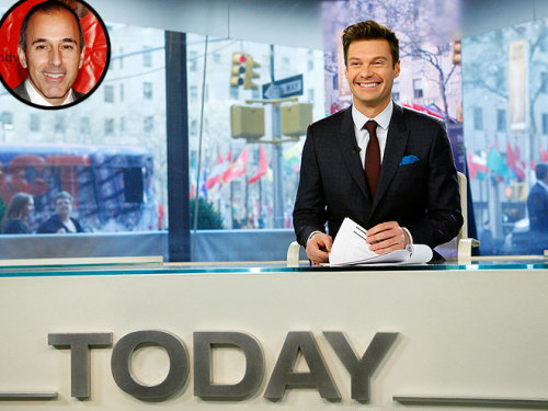 """Oh, they didn't tell you?"" – Ryan Seacrest, teasing Matt Lauer about taking his co-hosting job, on the Today show  Catch More of the 10 Best Celeb Quotes This Week >"