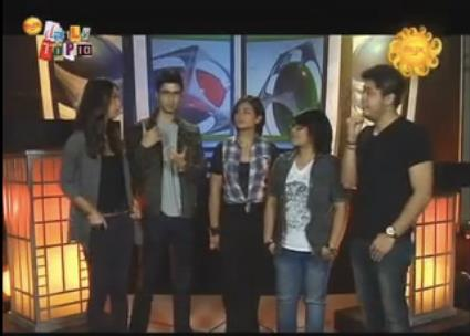 Promoting Walkway 2012 on MYX Daily Top 10 with Robin and Pat!