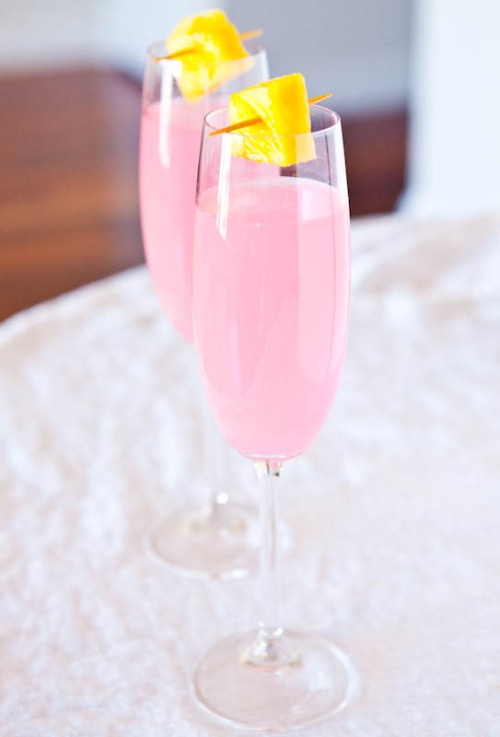coconut water champagne fruit punch click here for recipe