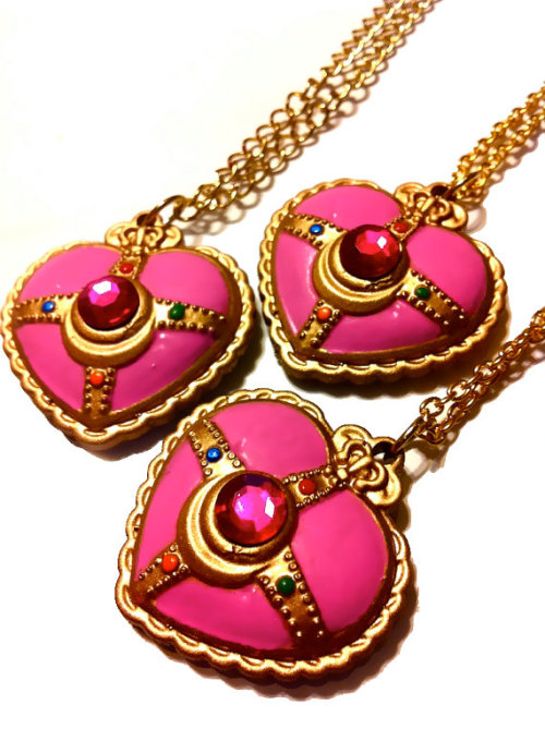 Sailor Moon PGSM Transformation Necklace Pendant etsy ($30)