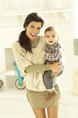Kourtney K and Mason D Disick :)
