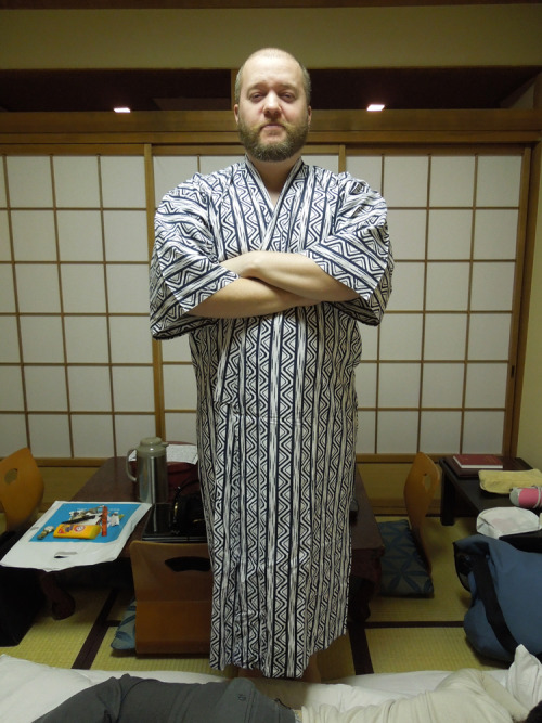 If it's in the hotel, I put it on. -Japan, 2012