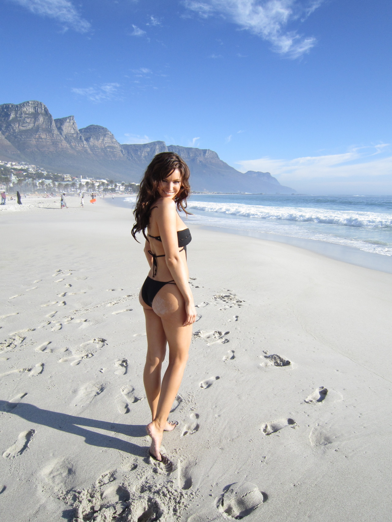 iamkellybrook:  On a photoshoot in Cape Town