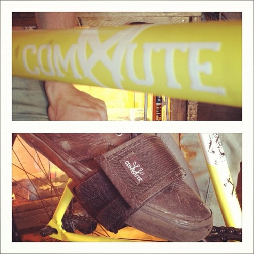 @bbgjoseph reppin' some new @commutebags swag! (Taken with instagram)