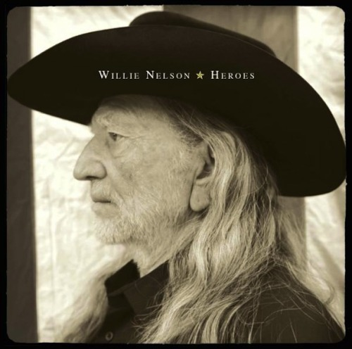 "Hear Willie Nelson and son Lukas cover Pearl Jam's ""Just Breathe."" The father-son duet appears on Willie's album Heroes, out May 15."