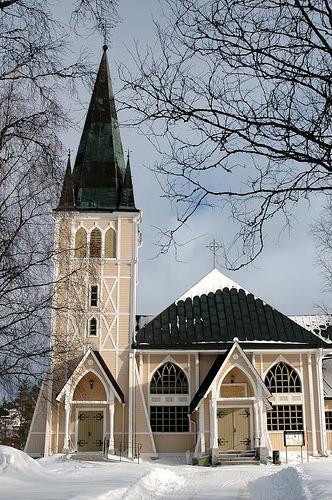 Church, Arvidsjaur, Sweden (by _Zinni_)