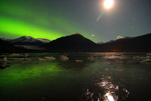 n-a-s-a:  Aurora in the Distance  Credit & Copyright: Lance McVay