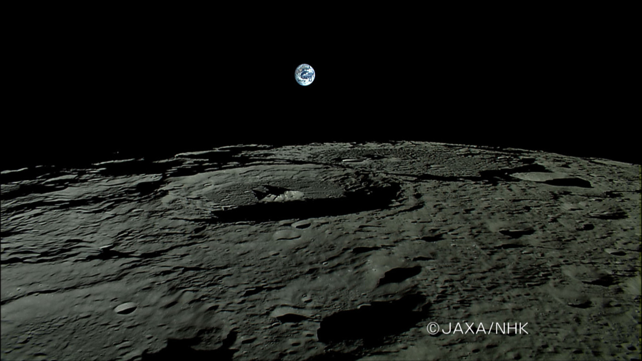 n-a-s-a:  Earthrise from Moon-Orbiting Kaguya  Credit & Copyright: SELENE Team, JAXA, NHK