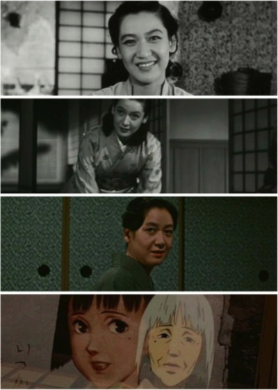 "Setsuko Hara She appeared in six of Yasujiro Ozu's films. She is called ""the Eternal Virgin"" in Japan and is a symbol of the golden era of Japanese cinema of the 1950s. She suddenly quit acting in 1963 (the same year as Ozu's death), and has since led a secluded life in Kamakura, refusing all interviews and photographs. Her last major role was Riku, wife of Oishi Yoshio, in the 1962 film, Chushingura. She was the inspiration for the protagonist of the 2001 movie Millennium Actress."