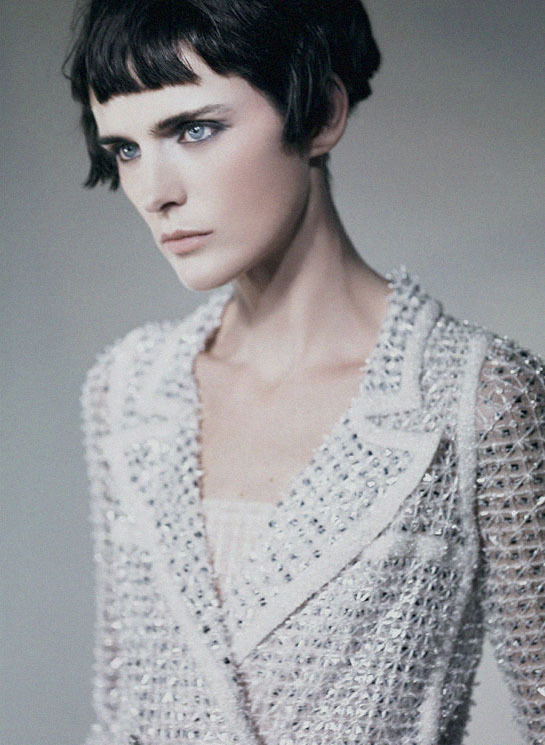 "deprincessed:  Stella Tennant by Paolo Roversi for ""It's All About Couture"""