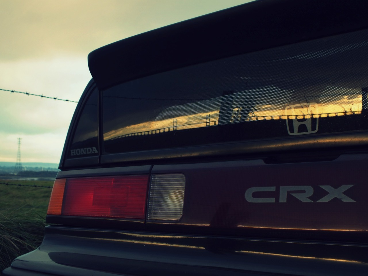 greencornercut:  CRX    that spoiler