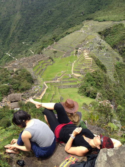 kirstengumraw:  Perfect angel overlook, watching over Machu Picchu