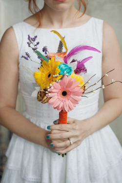 Simple. Colorful. Bouquet.