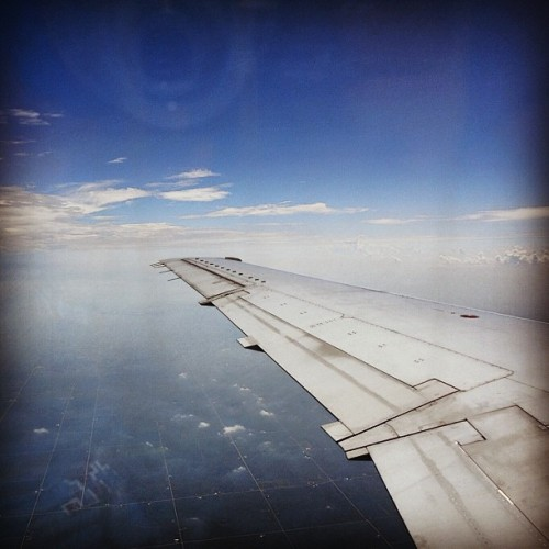 Chicago O'Hare to Eastern Iowa Airport, Cedar Rapids.Taken with instagram