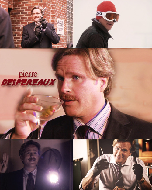 "sasquatchandbowlegs:  Psych Themed Challenge: Favorite Guest Star ⇝ Cary Elwes as the glorious Pierre Despereaux  ""I'd be remiss if I didn't inform you that you're way out of your league. The simple fact is, you'll never catch me. It's impossible."""
