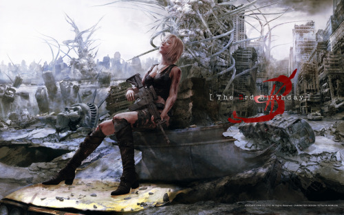 theghostofgrace:  Parasite Eve 3  This game is so repetitive but really fun.