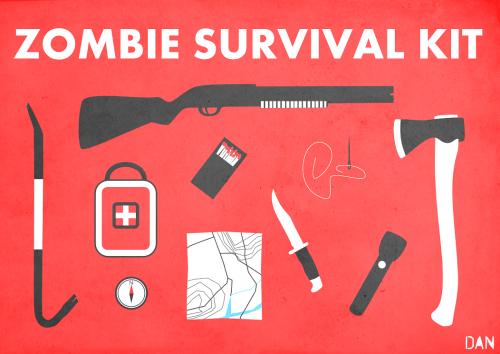 gamefreaksnz:  Zombie Survival Kit - by alchemytwo
